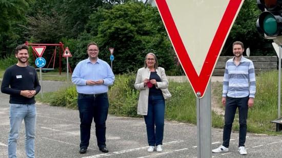 Besuch bei der Verkehrswacht Wedemark