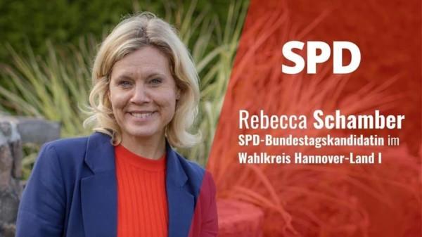 Rebecca Schamber Bundestagskandidatin