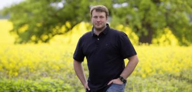 Bürgermeisterkandidat Helge Zychlinski