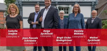 SPD Startseite Top-Listenplätze