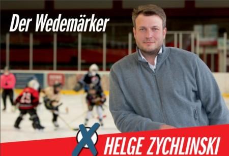 Bürgermeister Helge Zychlinski