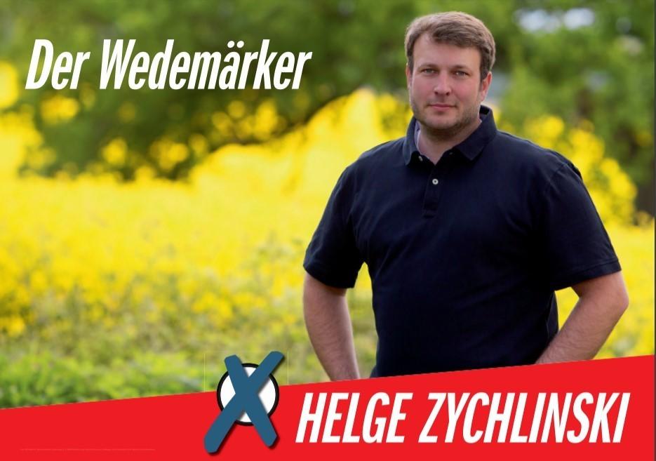 Helge Zychlinski Bürgermeisterkandidat